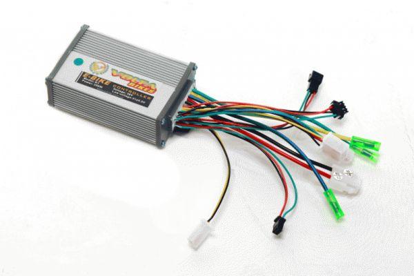 Контролер из комплекта для электровелосипеда