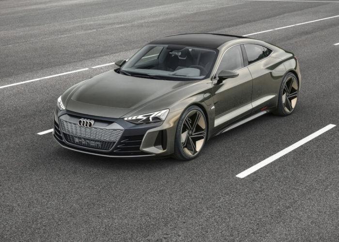 Внешний вид Электрический кроссовер Audi e-tron GT