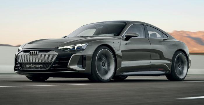Электрический кроссовер Audi e-tron GT: новый концепт 2019 года