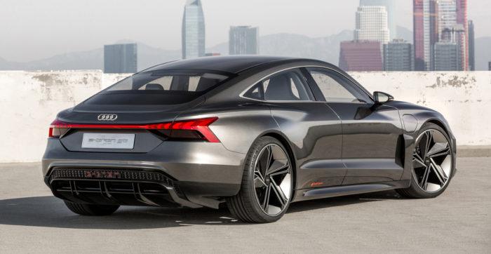 Багажник Электрический кроссовер Audi e-tron GT
