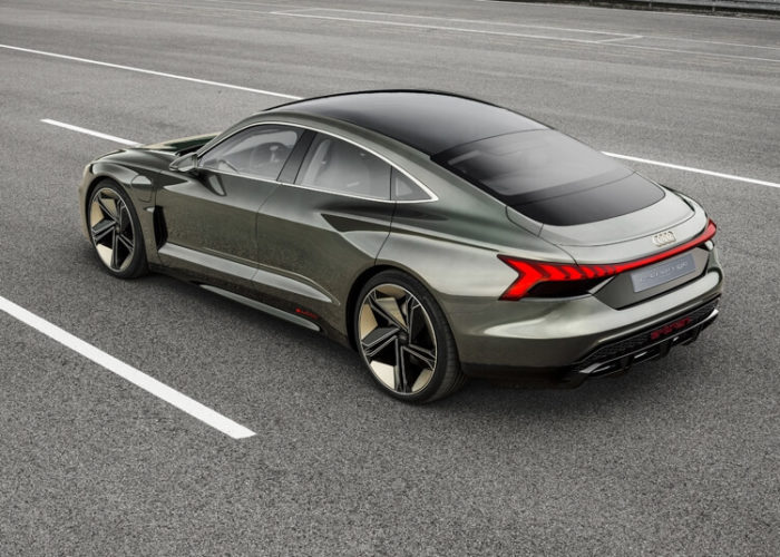Кузов Электрический кроссовер Audi e-tron GT