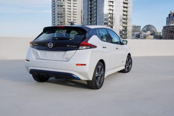 Nissan leaf e plus