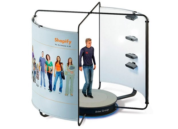 Artec shapify booth