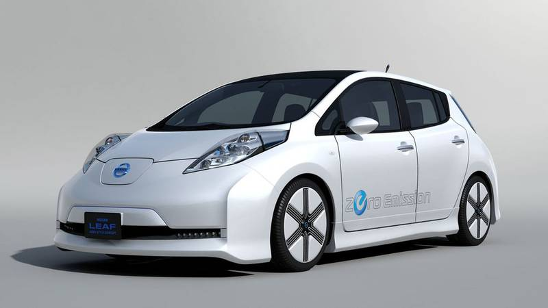 Nissan Leaf форма