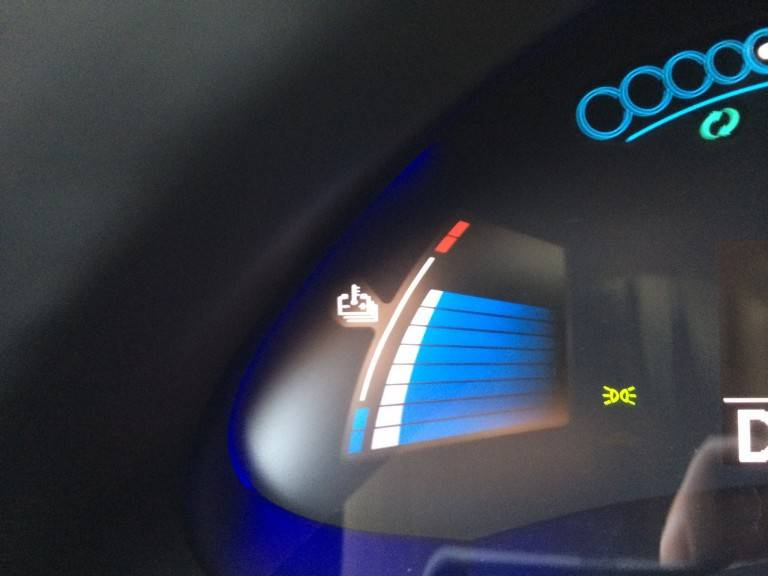 Nissan Leaf потребление энергии