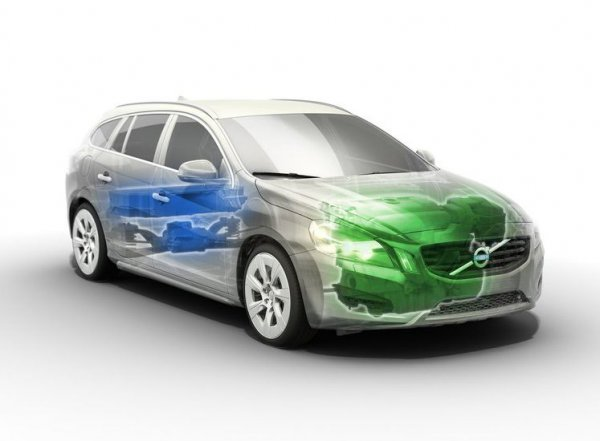 дизельный гибрид Volvo V60 характеристики