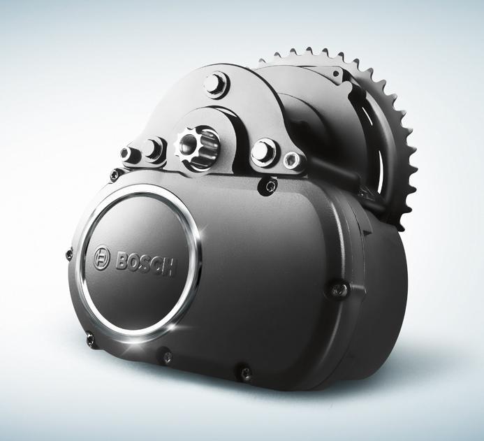 электромотор для велосипеда Электропривод Bosch