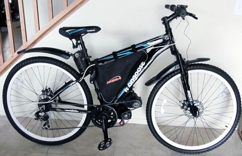 электромотор для велосипеда подвесной