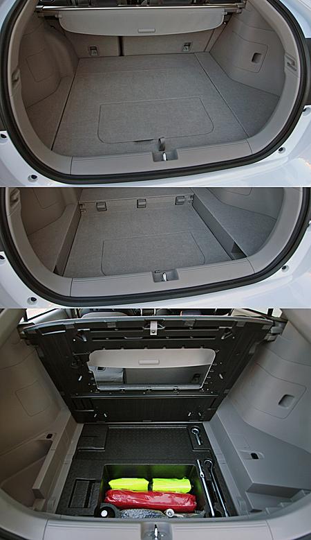 Honda Insight Гибрид багажник