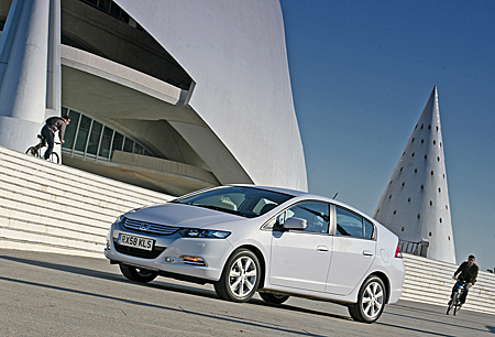 Honda Insight Гибрид