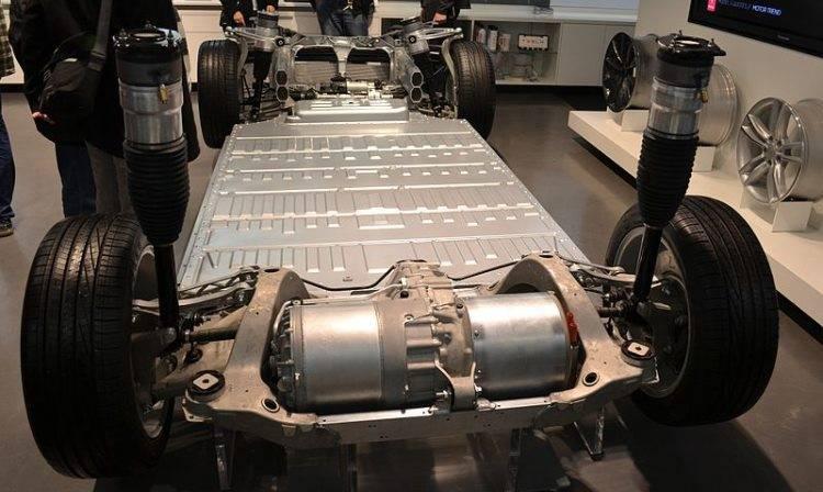 Тяговый электродвигатель для автомобиля