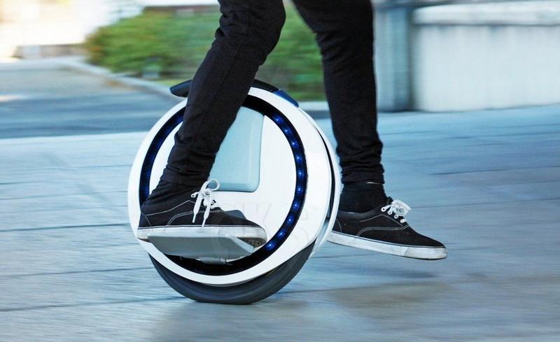 Гироскутер на одном колесе