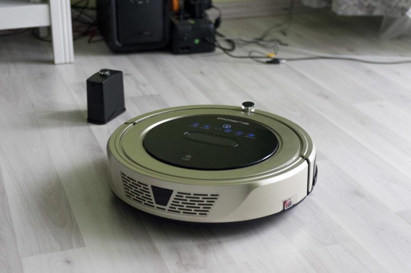 Робот пылесос PVCR 1126W технические возможности и мнение покупателей