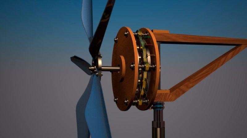 Ветрогенератор вертикальный сделать своими руками фото 557