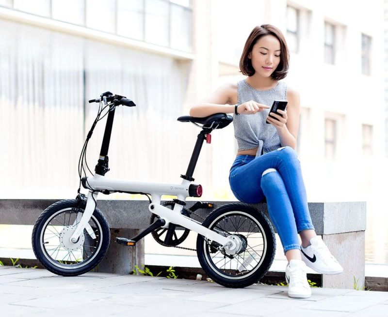 Xiaomi-MiJia-QiCycle ТОП – 1 складной электровелосипед