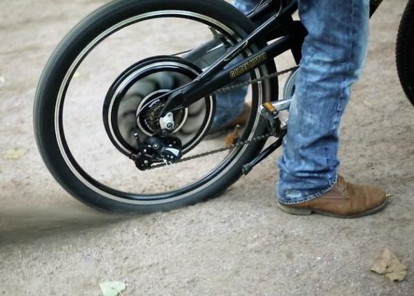 Мотор колесо встроенное в колесо