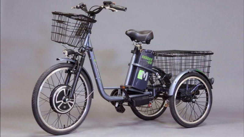 ТОП-6: Трицикл Kangooru 700W