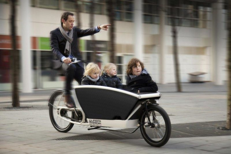 Грузовой элетровелосипед