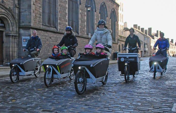 Грузовой элетровелосипед на свю семью