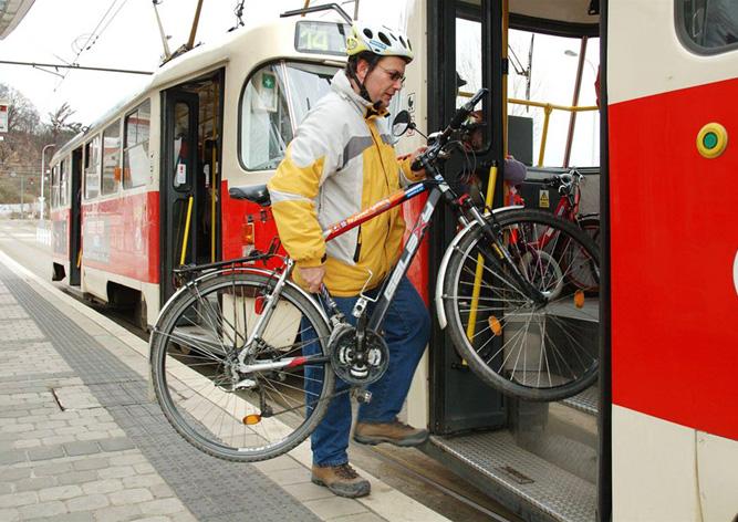 Провоз велосипеда в транспорте