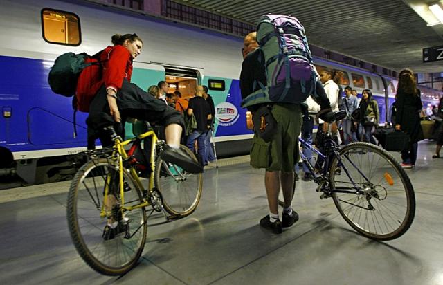 С велосипедом в метро