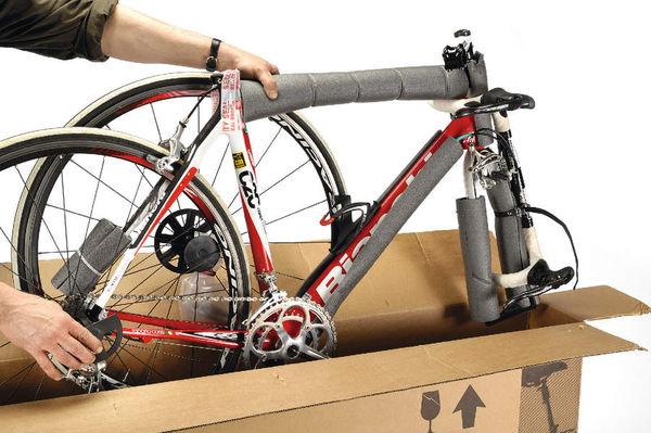 Велосипед в самолет
