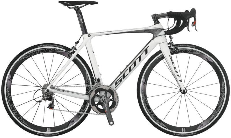 Дорожные велосипеды Scott-F01-AERO