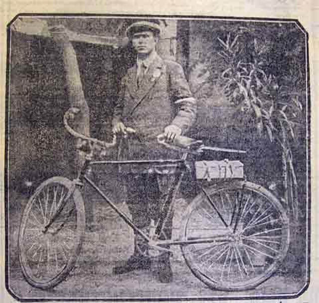 Онисим Панкратов кругосветное путешествие на велосипеде