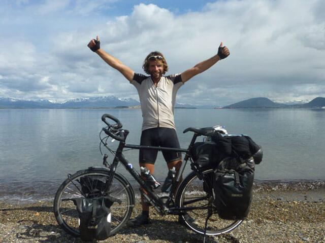 Марк Бомонд кругосветное путешествие на велосипеде