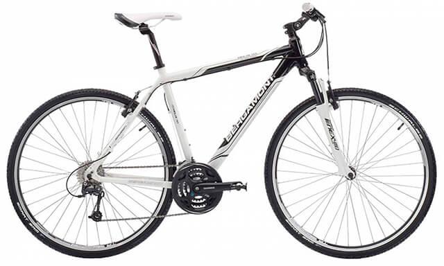 Велосипед-гибрид для велотуризма