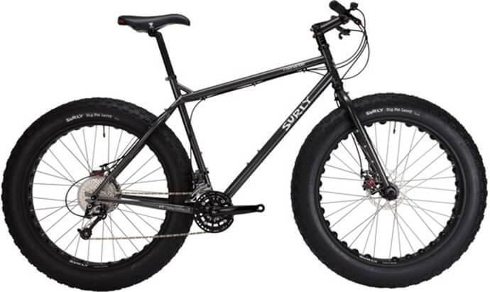 Модель велосипеда фэтбайк surly moonlander