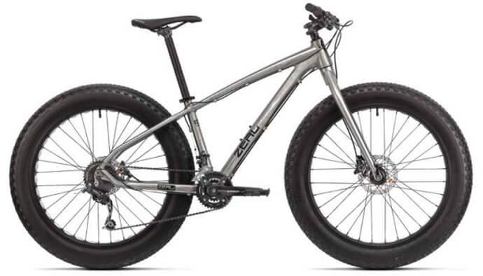 Модель велосипеда фэтбайк zeal 2015