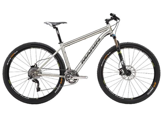 Горный велосипед для кросс-кантри Marin Team Titanium 29er с титановой рамой