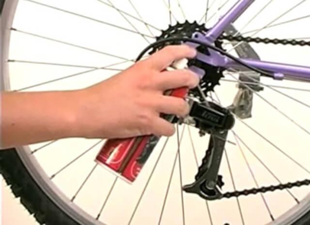 Смазка велосипеда