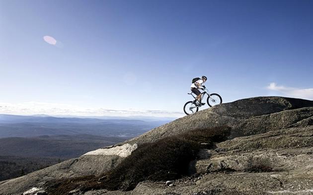 Преодоление подъемов на велосипеде