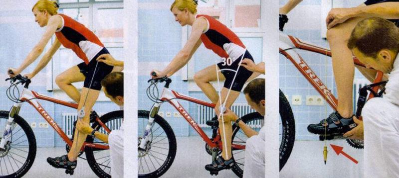 Сиденье велосипеда настройка