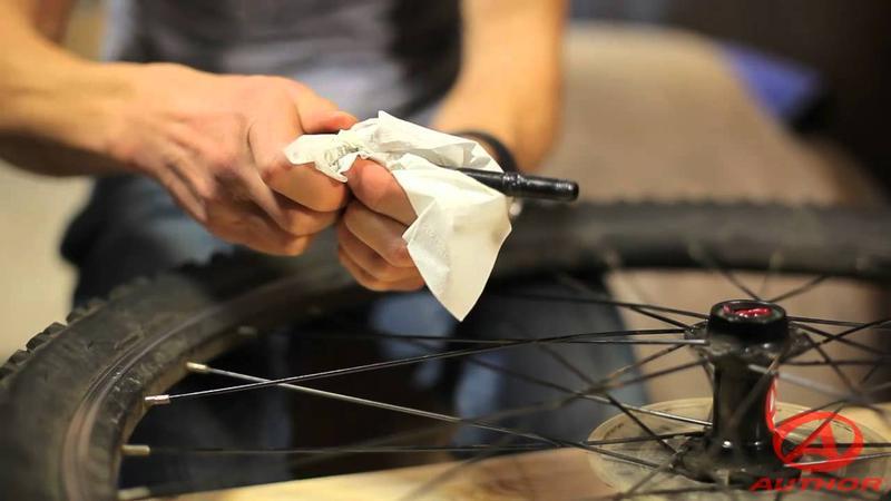 Обслуживание втулки заднего колеса велосипеда
