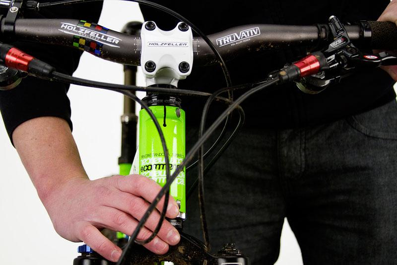 Как поднимают руль на велосипеде stels