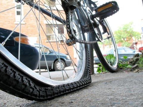 Какое давление в шинах велосипеда оптимально